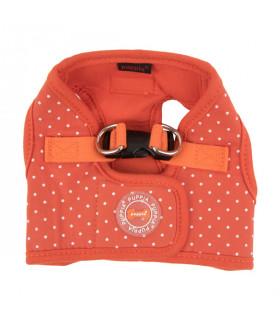 HB1529 Harnais-veste B Puppia Dotty Harness Orange