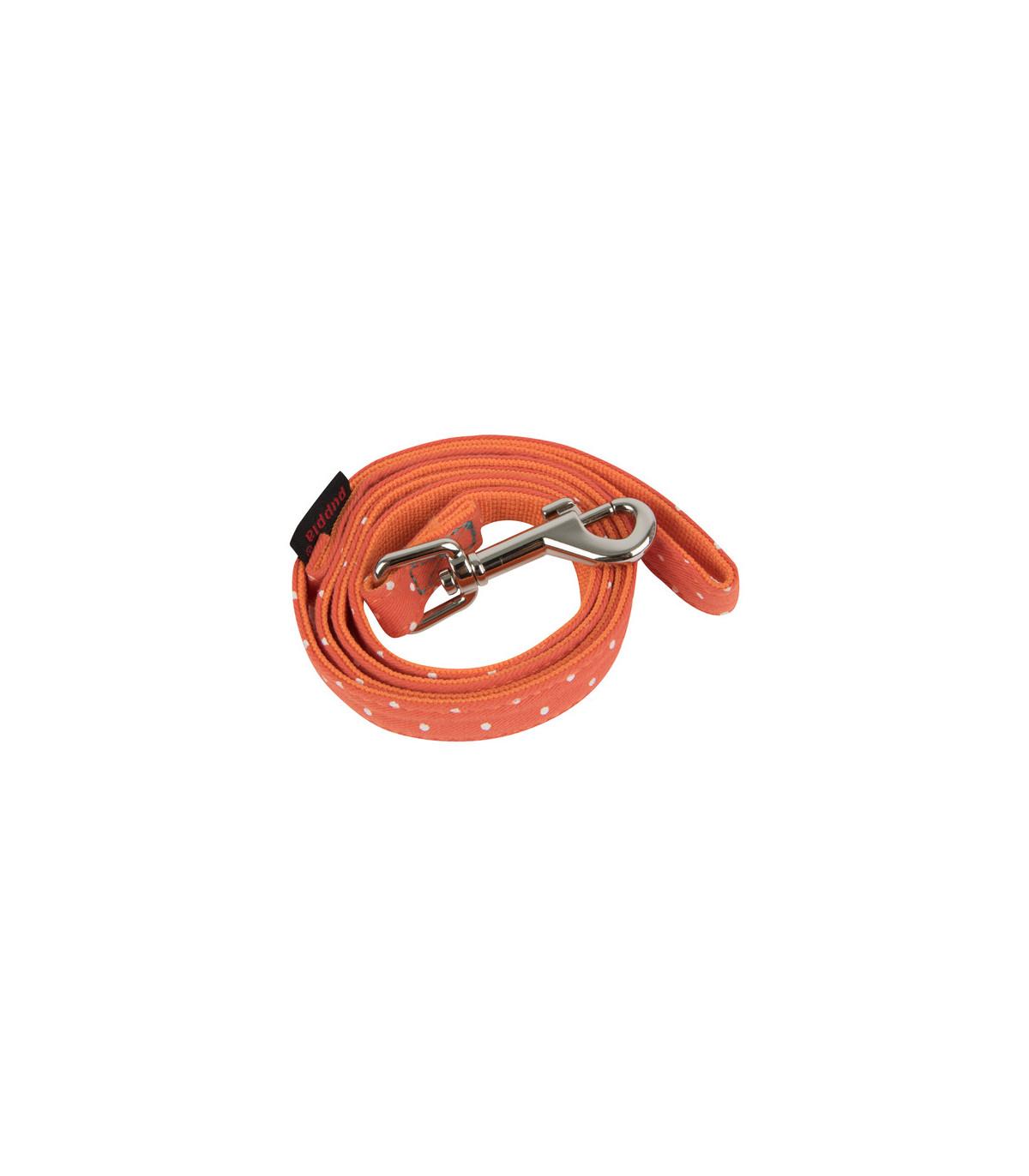 Puppia Laisse pour Chien Orange Taille L 140 cm 20 mm