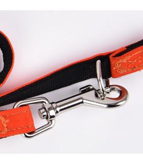 AL9323-Orange Laisse Puppia Trek Orange