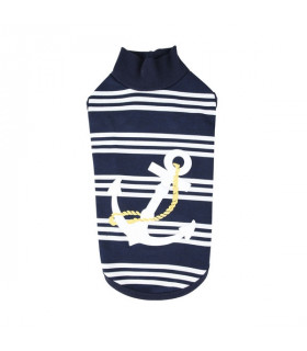 TS9282 Tee-shirt pour chat Catspia Mies Navy
