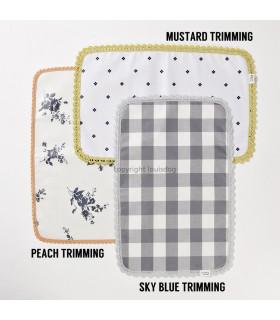 Set de Table LouisDog Lunch Mat Peach Trimming