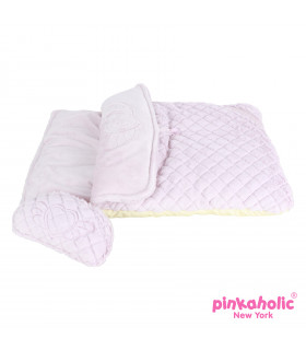 AU7290 Sac de couchage Pinkaholic Angel Sleeping Bag Ice Pink