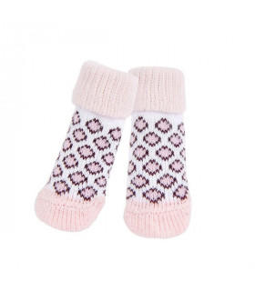 SO1592 Chaussettes Leone Puppia Pink