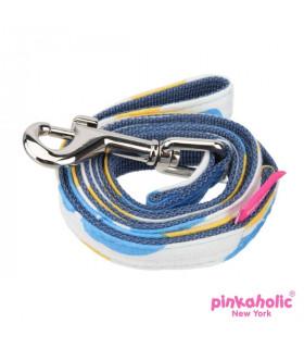 AL7218 Laisse Pinkaholic Peonies Blue