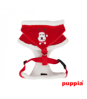 AC1364 Harnais Rudolph Harness A Puppia Red