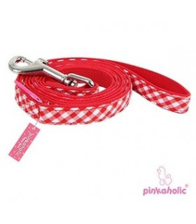 AL7032 Laisse Pinkaholic Venus Pinka Leash Red