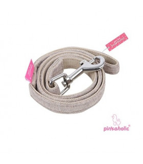 AL7076 Laisse Pinkaholic Zany Pinka Leash Brown