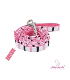 AL7030 Laisse Pinkaholic Middy Pinka Leash PINK