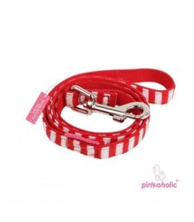 AL734 Laisse Pinkaholic Sailor Pinka Leash Red