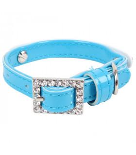 AC1255 Collier Jasmine Collar Puppia Blue