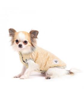 FW15245PK Doudoune Giacchina Sweet Diamond I Love My Dog Champagne
