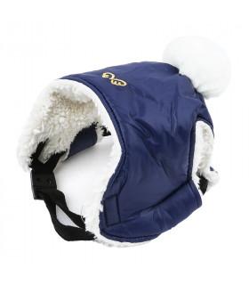AC443 Bonnet Padding Hat Puppy Angel Navy