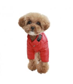 OW338 Doudoune 4 Patt UNISEX Puppy Angel Red