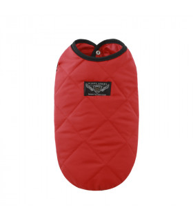 OW341 Doudoune Puppy Angel MAC Daily Padded Vest 3 Red 390