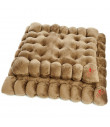 T884 Coussins Biscuits Petits Beurre Ferribiella Brown