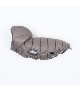 OW235 Doudoune Love Hood Down Padding Vest (Regular, Snap) Puppy Angel Grey 91