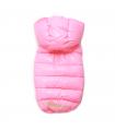 OW235 Doudoune Love Hood Down Padding Vest (Regular, Snap) Puppy Angel Pink 510