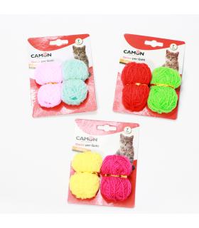 AG018/F Jouet Pelote de laine pour chat Camon