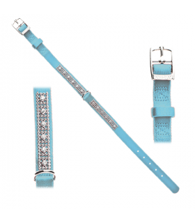 HI949/950/951 Collier Nylon Strass Ferribiella Blue