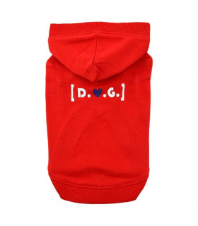 TS1607 Sweat D.O.G Puppia Red