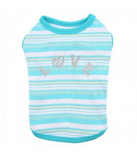 TS7401 Tee-Shirt Cara Pinkaholic Aqua