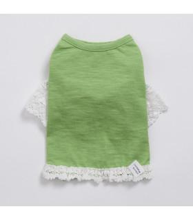 Tee-Shirt Oh ! Cheeky Cheeky Louisdog Green