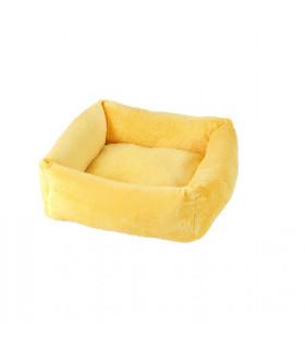 Panier Cube O lala Pets Yellow A12