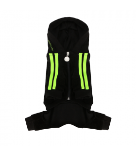 OR283 Jogging Hipster Suit Puppy Angel Black