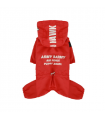 OW404 Imperméable Magagio Raincoat Puppy Angel Red