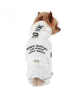 OW404 Imperméable Magagio Raincoat Puppy Angel White