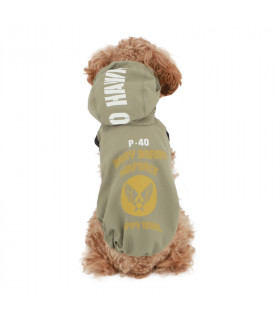 OW401 Imperméable Magagio Raincoat Puppy Angel Brown