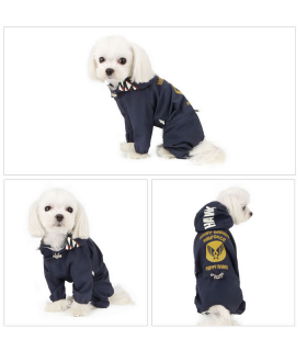 OW402 Imperméable 4 Pattes Magagio Puppy Angel Navy