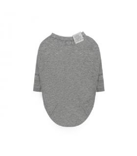 TS304 Tee-shirt Puppy Angel Daily Long Sleeve Grey 95