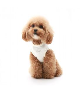 TS586 Tee-Shirt Daily Sleeveless Puppy Angel Ivory 2