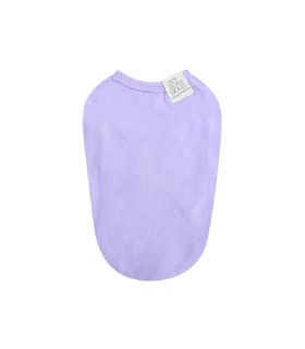 TS586 Tee-Shirt Daily Sleeveless Puppy Angel Purple 520