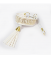 C004 Collier Roma O Cabot Chic White