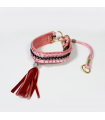 C006 Collier Strass O Cabot Chic Pink