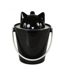 SG0101-NE Sceau à Croquettes Crick Black United Pets
