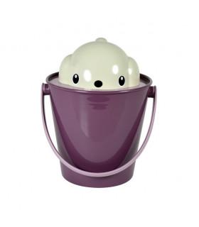 SG0201VL - Seau à croquettes Crock Violet United Pets