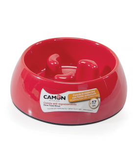 C034/1 Gamelle Anti Glouton Rouge Camon