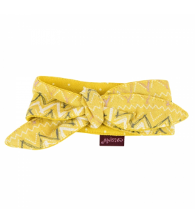 SC9423 Collier Chat Kaia Yellow Catspia