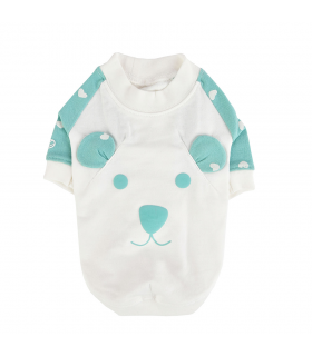 TS7561 Tee-Shirt Mon Ourson Mint Pinkaholic