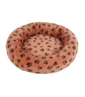 Panier Amélie De Luxe O lala Pets Imprimé Pattes Marron A60