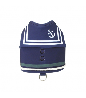 Harnais Veste Old Captain Navy Croci
