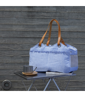 Tosho Bag/Picnic Candy Stripe Louisdog