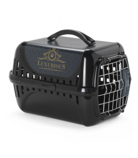 Cage de Transport Luxurious Noire Record