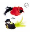 TP930/31 Jouet Oiseau Chantant Pour Chat Ferribiella