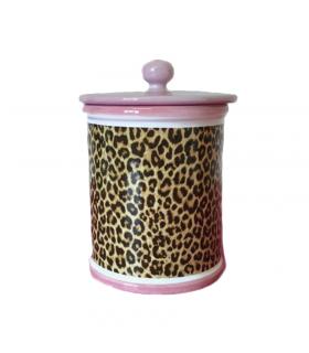 Pot à biscuits Léopard Luxury