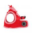 AH860 Harnais Veste Respirant Vivien Red Puppia