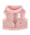 HJ7579 Harnais Veste Fourré Ursa Pink Pinkaholic